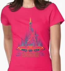 The Big Tronowski Womens Fitted T-Shirt