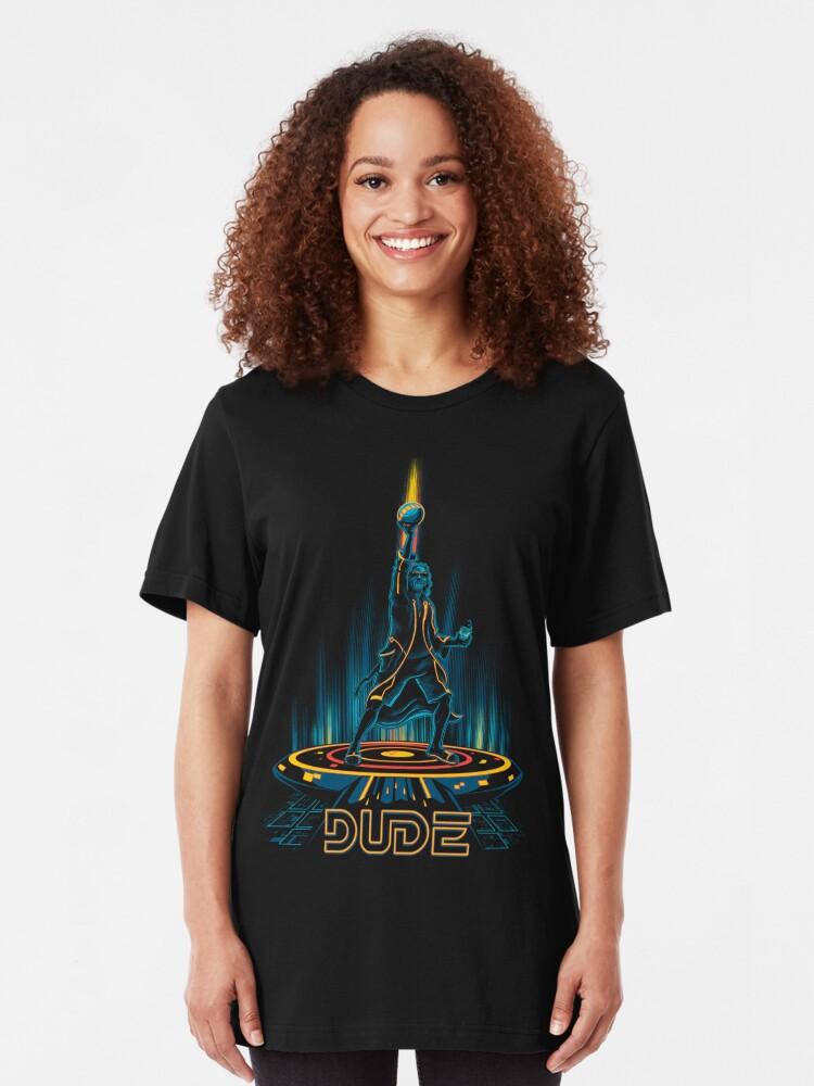Alternative Ansicht von Der große Tronowski Slim Fit T-Shirt