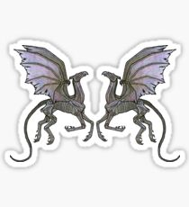 Thestral #3 Double Sticker