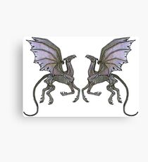 Thestral #3 Double Canvas Print