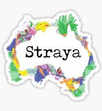 Straya Sticker