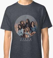 Camiseta clásica Quinta armonía (círculo)