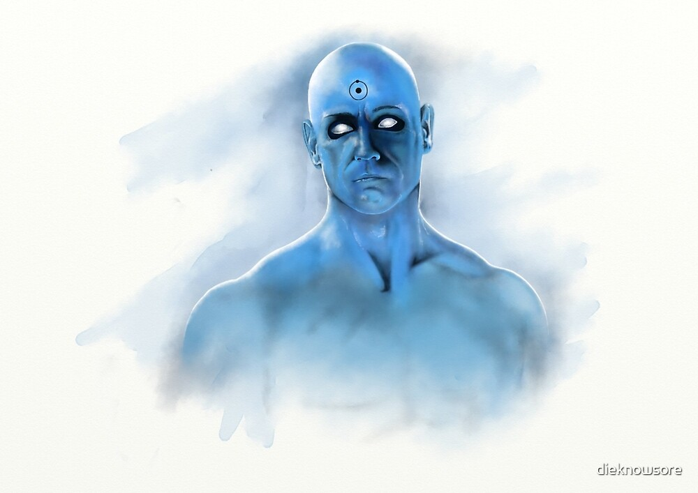 Doctor Manhattan by dieknowsore