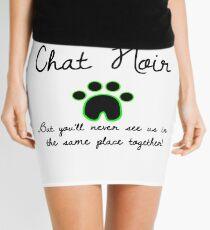 I'm Not Saying I'm Chat Noir Mini Skirt