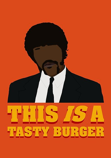 This is a tasty burger. by David Whiteman