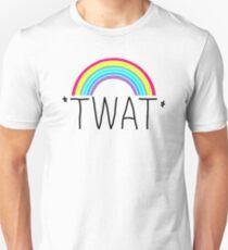 Twat Rainbow Unisex T-Shirt