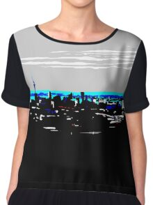 Auckland - Love This City Women's Chiffon Top