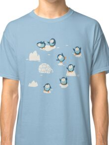 Penguins on ice Classic T-Shirt