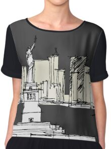 New York  Women's Chiffon Top