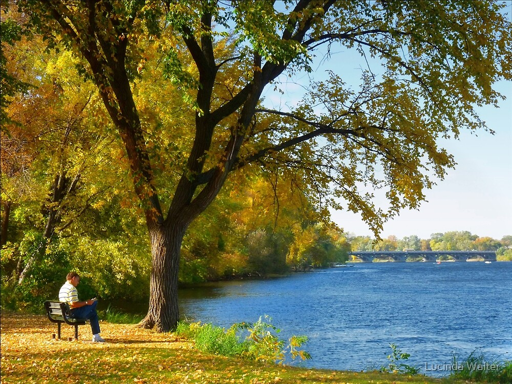 A Beautiful Indian Summer Day by Lucinda Walter