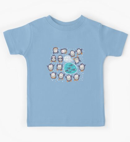 Winter penguins Kids Clothes
