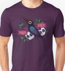 Mordkrähe Slim Fit T-Shirt