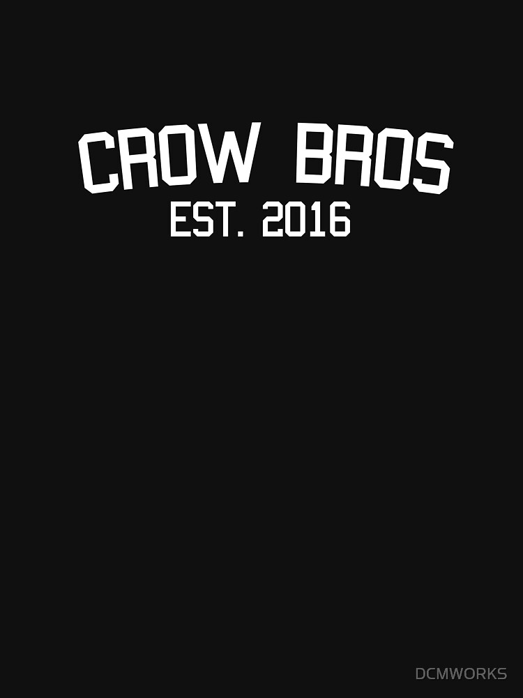 Crow Bros Shirt by DCMWORKS