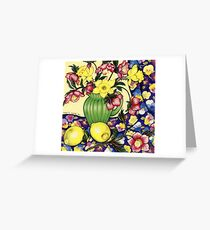 Winter Blooms Greeting Card