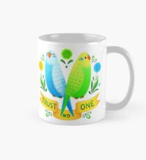 Trust NO One Budgerigars Mug