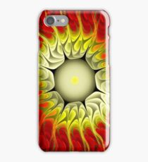 Fire Flower-Apophysis 7 iPhone Case/Skin