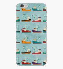Fishing Trawlers iPhone Case