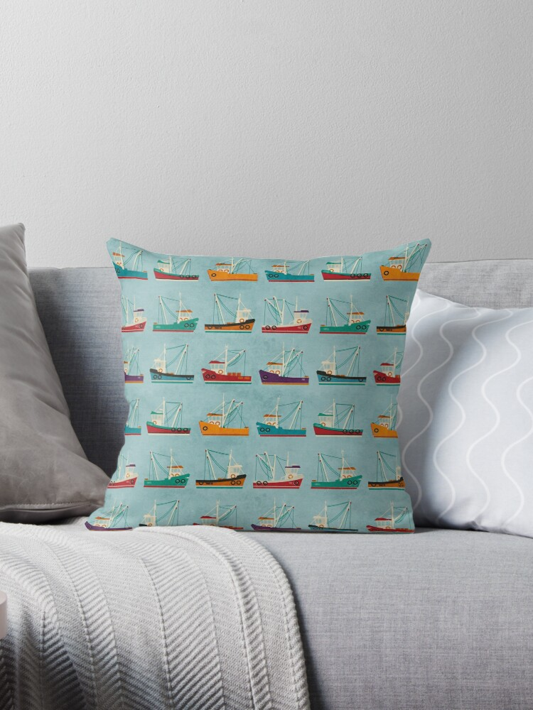 Fishing Trawlers by FendellPosters
