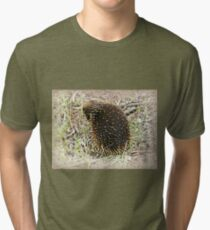 *Echidna* Werribee Open Range Zoo - Vic. Tri-blend T-Shirt