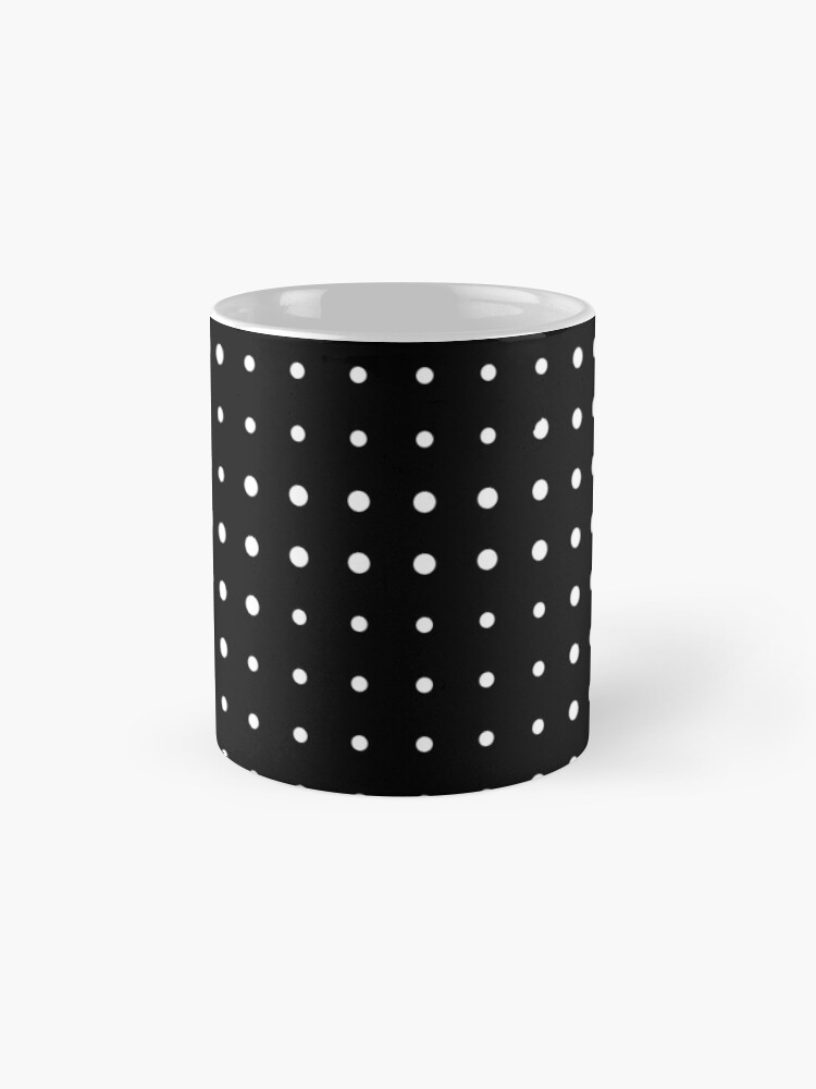 Alternate view of Subtle A in dots Mug