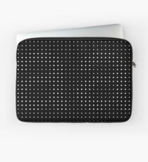 Subtle A in dots Laptop Sleeve