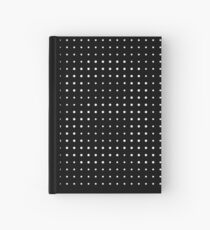 Subtle A in dots Hardcover Journal