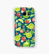 Strawberry and lime Samsung Galaxy Case/Skin