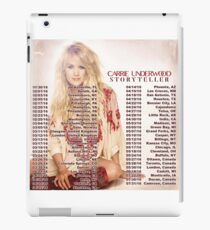 CARRIE UNDERWOOD STORYTELLER TOUR DATES 2016 iPad Case/Skin