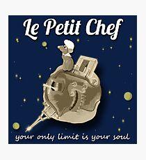 Le Petit Chef (monotone) Photographic Print