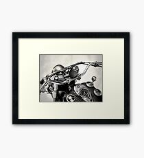 The Vintage Chief Framed Print