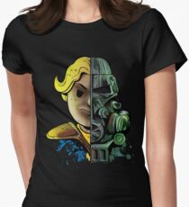 Face Off Women's Fitted T-Shirt
