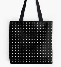 Subtle A in dots Tote Bag