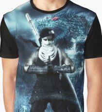 Dragon jutsu Graphic T-Shirt
