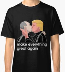 Trump kissing Putin Classic T-Shirt
