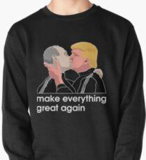 Trump kissing Putin Pullover