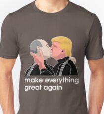 Trump kissing Putin Unisex T-Shirt