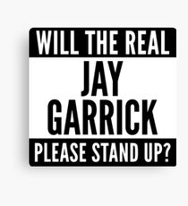 Will The Real Jay Garrick Please Stand Up? Canvas Print
