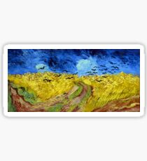 Vincent van Gogh Wheatfield with Crows Sticker