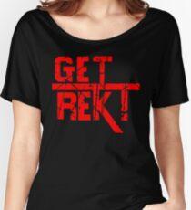 Rekt - ONE:Print Women's Relaxed Fit T-Shirt