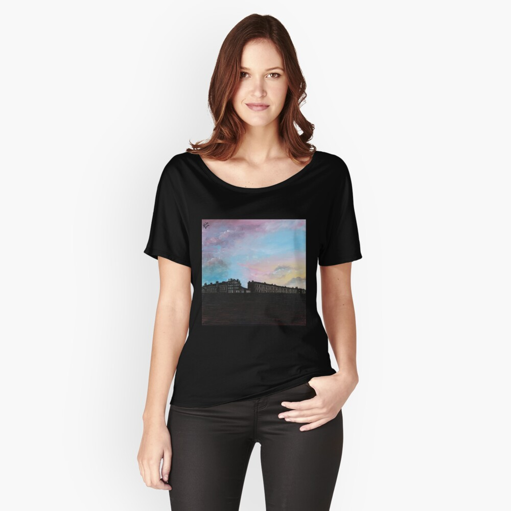 Priory Road at Dusk Relaxed Fit T-Shirt