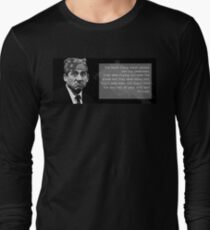 The Office - Prison Mike Long Sleeve T-Shirt