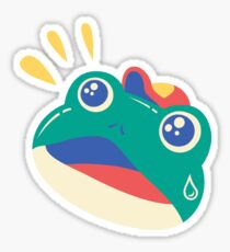 Slipping Toad Sticker