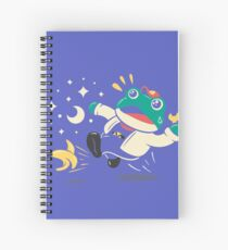 Slipping Toad Spiral Notebook
