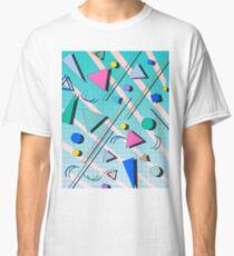 80s pop retro pattern 4 Classic T-Shirt