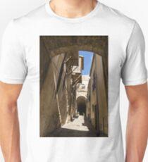 Limestone and Sharp Shadows - Old Town Noto, Sicily, Italy T-Shirt