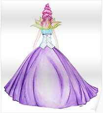 Waterlily, the princess Poster