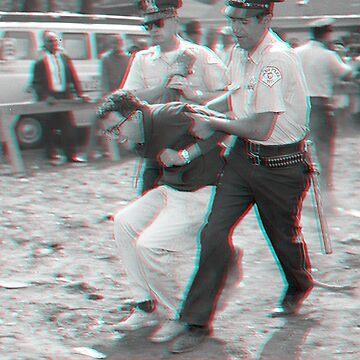 Bernie Thug Life (3D) by mozarella-tees
