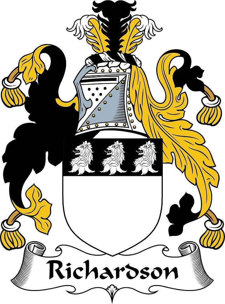 Quot Richardson Coat Of Arms Richardson Family Crest Quot By