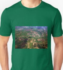 Meandering In Green Colombia Unisex T-Shirt