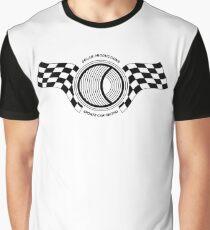 Steve McQueen Solar Productions Sports Car Racing Black Text Graphic T-Shirt